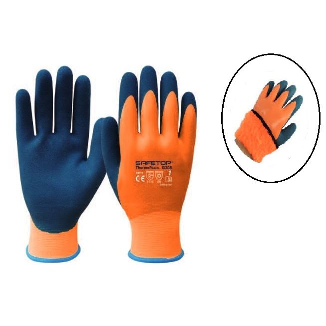 GUANTE THERMOFOAM G308 TERMICO IMPERMEABLE T-8 SAFETOP