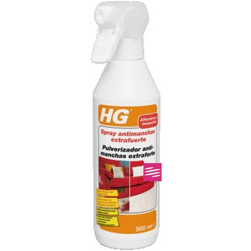 HG SPRAY ANTIMANCHAS TEXTILES EXTRAFUERTE 500 ML