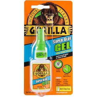 PEGAMENTO SUPER GLUE GEL GORILLA 15GR