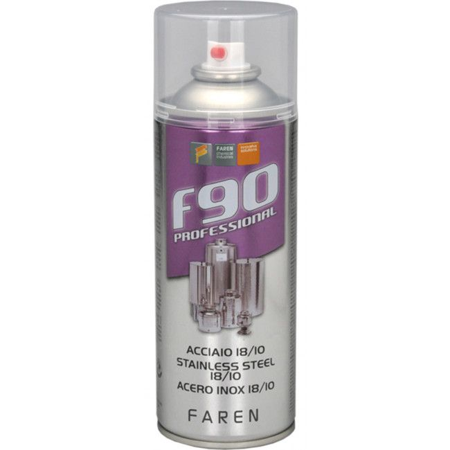 SPRAY ACERO INOX 18/10 F90 400ML