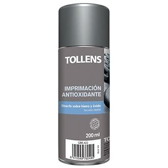 SPRAY IMPRIMACION ANTIOXIDANTE MATE GRIS 200ML TOLLENS